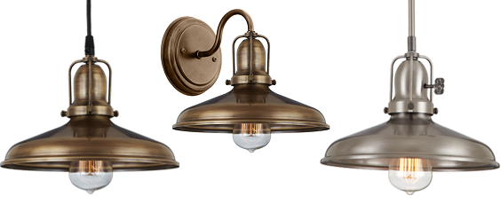 New Product: Curved Antique Shade