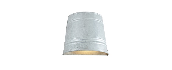 The Classic Bucket Wall Light