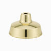 Polished Brass - Shade Satin Brass inside - Dry Location Thumbnail