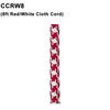Standard 8ft Red/White Cloth Cord Thumbnail