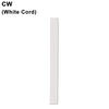 Standard 8ft White Cloth Cord Thumbnail