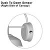 Dusk To Dawn Sensor Right Side of Canopy Thumbnail