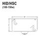 100-150W HID Hang Straight Swivel Canopy for Sloped/Vaulted Ceilings Thumbnail