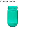 4 Green Glass Thumbnail