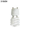 2-GU24 Twist Lock Bi-Pin Fluorescent & LED socket Thumbnail