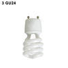 3-GU24 Twist Lock Bi-Pin Fluorescent & LED socket Thumbnail