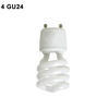 4-GU24 Twist Lock Bi-Pin Fluorescent & LED socket Thumbnail