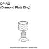 Diamond Plate Ring Thumbnail