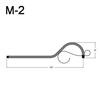 "M-2, 13"" Mini Gooseneck W/Scroll Thumbnail"