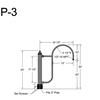 "P-3, 20"" Post Arm (1/2"" NPT) Thumbnail"