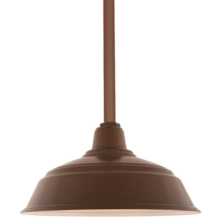 """17"""" RLM shade with ST3 in 145 Oil Rubbed Bronze finish"""