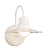 Classic Radial Shade Wall Light