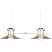 Duo Cord-Hung Ceiling Light