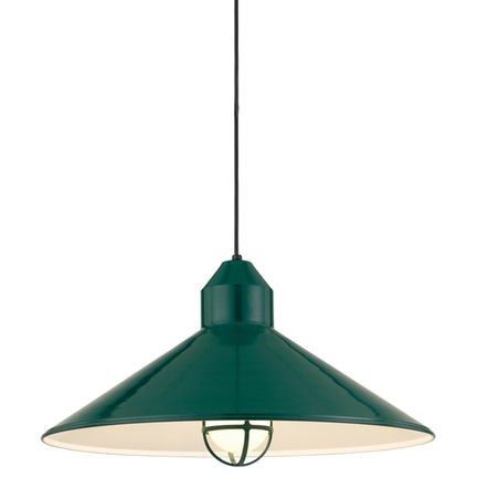 """27"""" shade in 29 french green, 8 ft. black cord w/ 91 black canopy, LCGU w/ frost glass, 95 dark gree"""