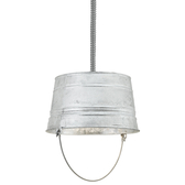 The Classic Bucket Flex-Mount Ceiling Light
