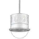 Vented Bucket Flex-Mount Ceiling Light