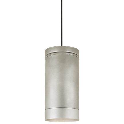 H-16064 with light shield in 101 brushed aluminum, 8 foot black cord with 91 black canopy