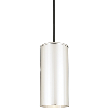 H-16046 in 98 polished aluminum, 8 foot black cord with 91 black canopy