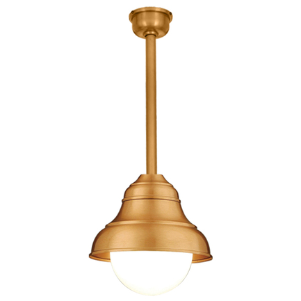"""9"""" shade and 10"""" ST2 with SMC and DCC in 44 polished copper, 6OP accessory"""