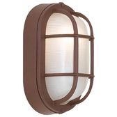 Oval Cage Wall Light