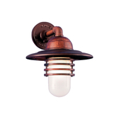 The Hatted Layered Vapor Jar Wall Light