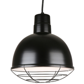 Quick Ship Classic Deep Bowl Shade Cord-Hung Pendant