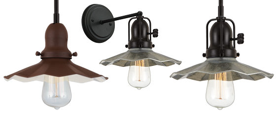 New Product: Waved Antique Shade