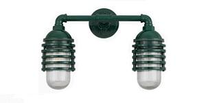 Classic Layered Vapor Duo Wall Light