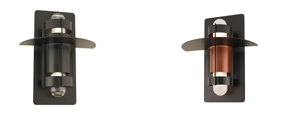 The Extended Hatted Atlas Wall Light