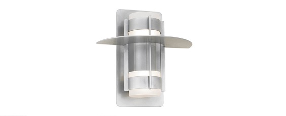 The Hatted Atlas Wall Light with Center Can