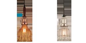 Crackle Glass Pendant Lights