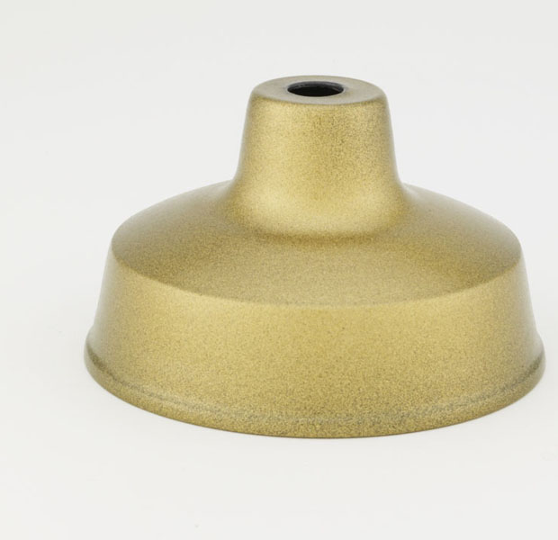 128 (Painted Gold) Painted Gold Interior Finish, Exterior Rated