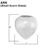 Small Acorn Glass Thumbnail