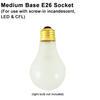 Standard Incandescent Medium Base E26 Socket Thumbnail
