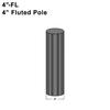 """4"""" Diameter, Ribbed/Fluted Pole Thumbnail"""