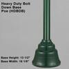 Heavy Duty Bolt Down Base Pole Thumbnail