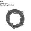 Black Cord/Over 8ft Standard Length Thumbnail
