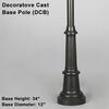 Decorative Cast Base Pole Thumbnail
