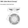 Stem Canopy for Flat Ceilings Thumbnail