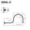"""QSNHL-C, 30"""" Gooseneck Arm (3/4"""" NPT) Thumbnail"""