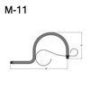"M-11, 8"" Mini Gooseneck W/Scroll Thumbnail"