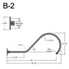 """B-2, 35"""" Gooseneck Arm (3/4"""" NPT) Thumbnail"""