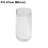 Clear Ribbed Glass Thumbnail