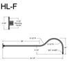 """HL-F, 54"""" Gooseneck Arm (3/4"""" NPT) Thumbnail"""