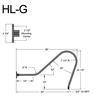 """HL-G, 38"""" Gooseneck Arm (3/4"""" NPT) Thumbnail"""