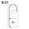 """B-21, 26"""" Gooseneck Arm (3/4"""" NPT) Thumbnail"""