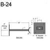 """B-24, 14"""" Arm (3/4"""" NPT) Thumbnail"""