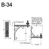 """B-34, 19"""" Arm (3/4"""" NPT) Thumbnail"""