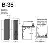 """B-35, 27"""" Arm (3/4"""" NPT) Thumbnail"""