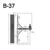 """B-37, 27"""" Arm (3/4"""" NPT) Thumbnail"""